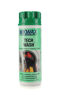 (1 Liter / 33,33 Euro) 300 ml Nikwax Tech Wash  Imprägnierung Waschmittel