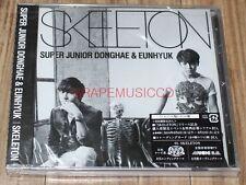 SUPER JUNIOR DONGHAE & EUNHYUK SKELETON K-POP CD JAPAN EDITION + PHOTOCARD NEW