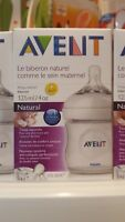 Philips Avent Naturnah-Flasche- transparent Silikonsauger  (1 x 125 ml)