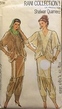 Shalwar Quameez Rani Collection 1 Dress Trousers Pattern EURO Sizes 8-18 Uncut
