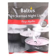 Baltus 20 Festive Xmas Crisp Apples Scented Wax Night Lights Tealights Candles