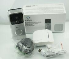 Renkforce RF-3206026 IP-Video-Türsprechanlage WLAN, Funk Komplett-Set Silber,