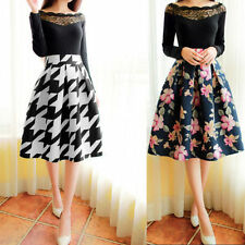 Unbranded Floral A-Line Skirts for Women