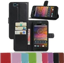 Case Cover For Telstra 4GX HD / ZTE Blade A475 / L4 Pro Plus Wallet PU Leather