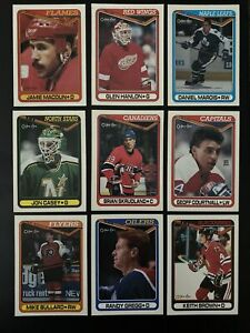 1990-91 OPC Hockey Cards.  Card #265-528 & Inserts.  Pick to Complete Your Set