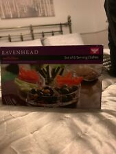 Ravenhead Set Of 6 Serving Dishes Boxed Psrty Entertain