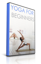 Yoga Beginners Fitness Meditation Relax Exercise Stress Anxiety Back Pain DVD