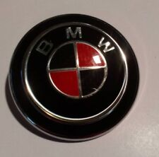 BMW E36 & E46 3 Series Convertible  - 60mm Rear  FULL BADGE - RED & BLACK CARBON