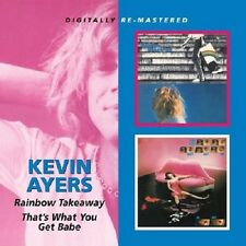 Kevin Ayers Rainbow Takeaway/That's What You Get Babe CD NEW SEALED Remastered