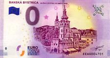 SLOVAQUIE Banskà Bystrica, 2018, Billet 0 € Souvenir