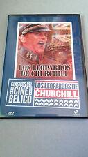 """DVD """"LOS LEOPARDOS DE CHURCHILL"""" COMO NUEVA KLAUS KINSKI RICHARD HARRISON"""