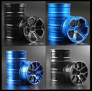 1/10 Onroad Drift Rc Car Aluminium Wheels Ris For Tamiya tt01 tt02 Hpi Sprint2