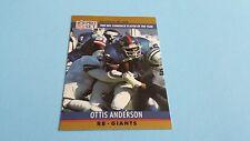 1990 PRO SET FOOTBALL OTTIS ANDERSON CARD #7***NEW YORK GIANTS***