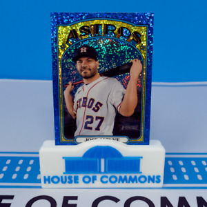 2021 Topps Heritage BLUE SPARKLE Chrome Refractor Parallels ~ Pick your card