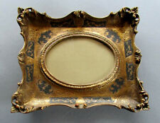 Vintage ITALIAN Carved Wood FLORENTINE STYLE PICTURE FRAME