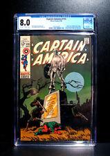 COMICS: Marvel: Captain America #113 (1969), classic Steranko cover - CGC 8.0