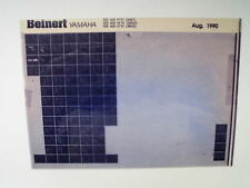 Yamaha FZR 600_H_N_M_1991 Microfilm Catalogo ricambi Pezzo di Listello