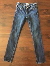 Aeropostale Women's Size 1/2 Short Bayla Skinny Jeans Dark Wash 24x28