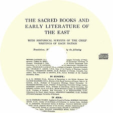 The Sacred Books and Early Literature of the East (14-Volumes) Book on CD