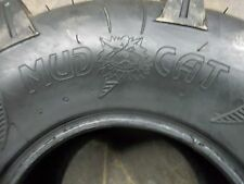 TWO 25/8.00-12, 25/8.00-12 ATV Mud Cat 6 Ply Tubeless Four Wheeler Tires