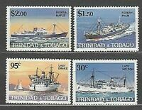 Trinidad And Tobago - Mail Yvert 522/5 MNH Boats