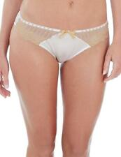 Charnos Sienna Thong 1295120 Ivory/Gold * New Charnos Lingerie