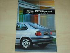 62161) BMW 318ti compact Prospekt 199?