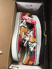 VANS ERA DISNEY MICKEY AND FRIENDS SIZE 9.5