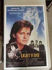 Vintage 1 sheet 27x41 Movie Poster Light Of Day 1987 Michael J Fox Joan Jett