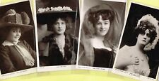 ☆ EDWARDIAN THEATRE / MUSIC HALL ACTRESS / DANCER ☆ 1900s Postcards LIST 19