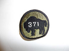 b0433 WW2 US Army 371st Infantry Regiment 92nd Division R9B