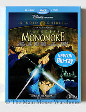 Ghibli Princess Mononoke Blu-ray DVD No Slipcover Jada Smith Billy Bob Thornton