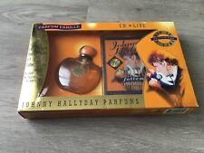 COFFRET CD PARFUM JOHNNY HALLYDAY NEUF