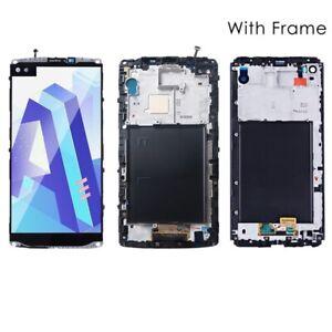 For LG V10 VS990 H901 V20 VS995 H918 LCD Display Touch Screen Digitizer Frame