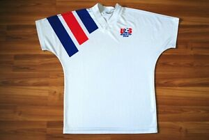 USA NATIONAL TEAM FOOTBALL SOCCER SHIRT 1992/1994 AWAY JERSEY ADIDAS EQUIPMENT