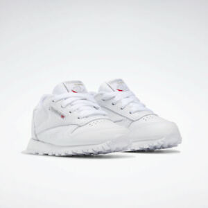 Reebok Infant/Toddler Classic Leather Sneaker White 92756