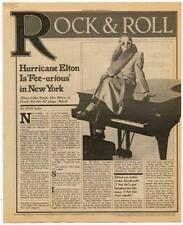 Elton John Interview/article 1976 HJKL