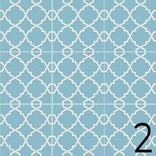 Fliesen Azulejos je 9,8x9,8 cm – 9 Designs Aufkleber Set - 36 Sticker / Design 2