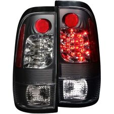 FOR FORD F-150/250 1997-2003 LIGHTDUTY L.E.D TAIL LIGHTS BLACK LH+RH