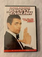 Johnny English (DVD, 2004, Widescreen Edition) New Sealed