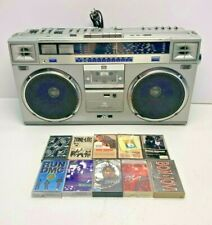 VINTAGE Refurbished JVC RC-M70JW Stereo Cassette Shortwave Radio Boombox Tapes