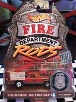 HOT WHEELS 1/64 FIRE DEPARTMENT