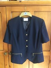 Betty Barclay Navy Ladies Jacket Size 8