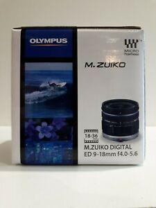 Olympus M.Zuiko Digital ED 9-18mm f/4.0-5.6 Camera Lens