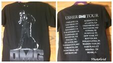 Usher Omg Tour Shirt 2 Sided Graphic Adult Small