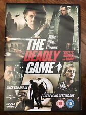 Gabriel Byrne Julian Sands The Deadly Game ~ 2013 London Crime Thriller GB DVD
