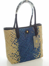 """Modalu Tote Bag In Ocean Blue """"Falmouth Design"""" RRP £99.00 Brand New With Tag"""