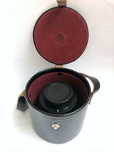 Carl Zeiss Jena Flektogon 4/20 Black M42 with case 20mm f/4 Lens