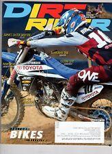 Dirt Rider Motocross Magazine Dec 2013 Justin Brayton Honda MX Tests
