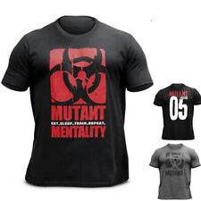 Мутант мужская футболка Бодибилдинг спортзал фитнес мышцы футболка обучение спорт 2021 топ